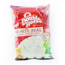 Double Horse Aval - White
