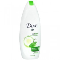 Dove Body Wash - Fresh Moisture - Hydrating Milk Cucumber & Green Tea Scent, 200 ml Pack