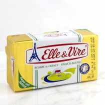 Elle & Vire Beurre de France - French Butter (Salted)