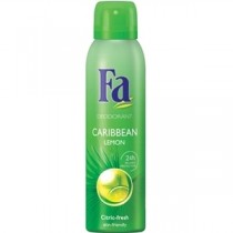 Fa Deodorant Body Spray Caribbean Lemon 125 ml