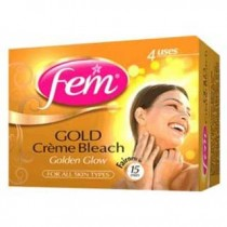 Fem - Gold Fairness Bleach 26 gm Pack