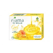 Fiama Di Wills Gel Bathing Bar - Brazilian Orange & Ginseng 75 gm Pack