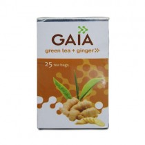 Gaia - Green Tea Bags Ginger