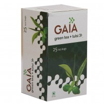 Gaia - Green Tea Bags Tulsi