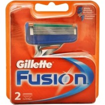 Gillette Cartridges - Fusion, 2 Nos Pouch