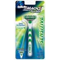 Gillette - Mach 3 Turbo Sensitive Razor 1 Pc