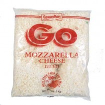 Go - Mozarella Cheese Diced