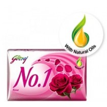 Godrej No. 1 - Rose Soap (4 X 100 gm Pack)
