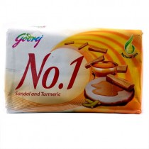 Godrej No. 1 - Sandal & Turmeric Soap (4 X 100 gm Pack)