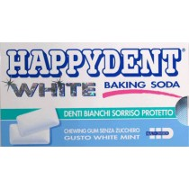 Happy Dent - White Chewing Gum 24 Pack