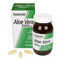 Health Aid Aloe Vera 5000mg - Mega Strength
