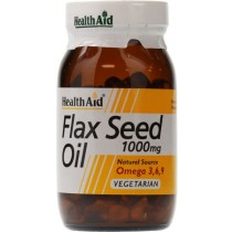 Health Aid Flax Seed Oil - 1000mg (Omega 3.6.9)