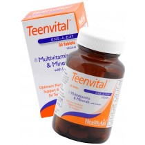 Health Aid Teenvital (Multivitamin & Minerals with Lutein)