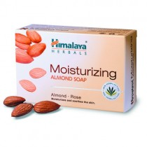 Himalaya Moisturizing Soap - Almond & Rose 75 gm Pack