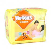 Huggies Diapers - Small (upto 7 kgs)