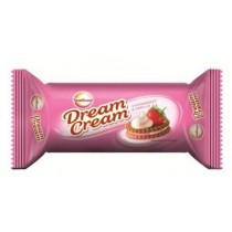 ITC Sunfeast - Strawberry Vanilla Cream 120 gm Pack