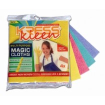 Kress Kleen - Magic Cloths 4 Pcs