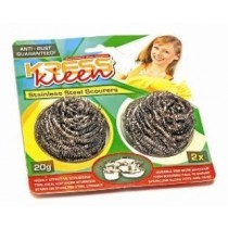 Kress Kleen - Stainless Steel Scrub Pads 2 pcs