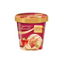 Kwality Walls Carte D'OR Ice Cream - Strawberry Cheesecake