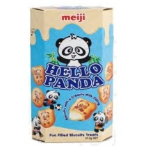 Meiji Hello Panda - Milk Cookies