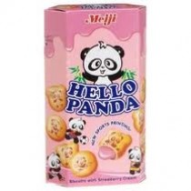 Meiji Hello Panda - Strawberry Cookies 50 gm
