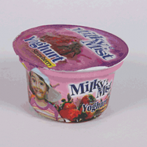 Milky Mist Yoghurt - Strawberry