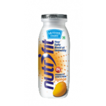 Mother Dairy Nutrifit Fermented Probiotic Milk Drink - Mango