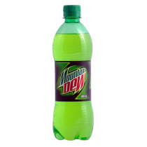 Mountain Dew - Soft Drink 600 ml Packing