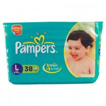 Pampers - Large (9 - 14 kgs)