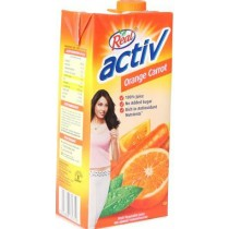 Real Activ - Orange Carrot Juice 1 lt Packing