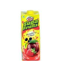 Real Supa Fruits - Strawberry & Plum