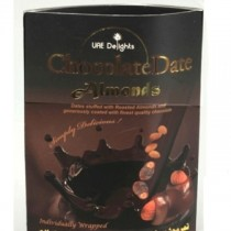 Uae Delight - Chocolate Date Almonds 158 gm Pack