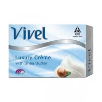 Vivel Luxury - Cream Shea Butter Soap (4 X 100 gm Pack)