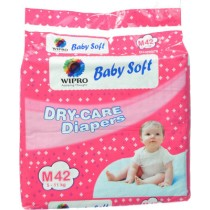 Wipro - Dry Care Diapers Medium