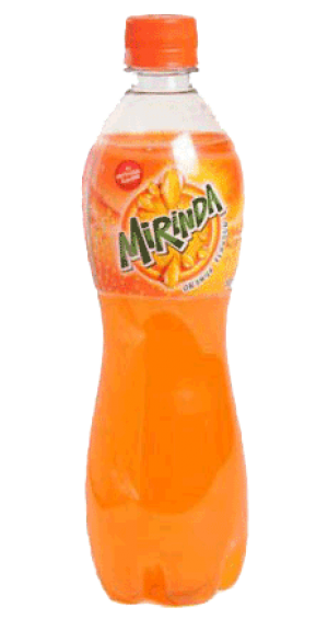 Mirinda - Soft Drink 600 ml Packing