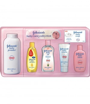 Johnson & Johnson Baby Gift Box - Deluxe