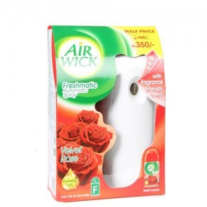 Airwick - Freshmatic Auto Spray Velvet Rose + Refill 250 ml pack