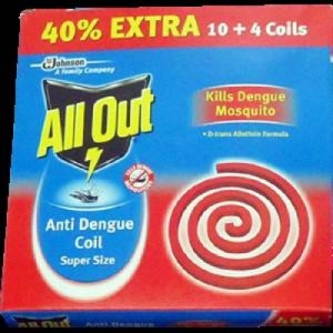 All Out Anti Dengue Coil Super Size 14 Coils