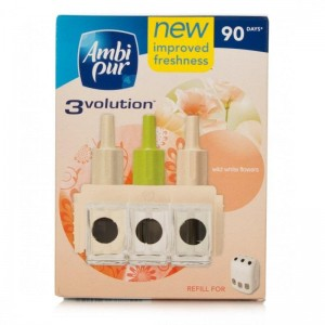 Ambi Pur - 3Volution Refill Wild White Flowers 20 ml