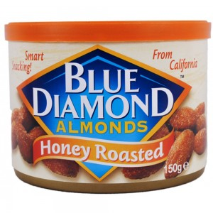 Blue Diamond Almonds - Honey Roasted