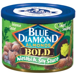 Blue Diamond Almonds - Wasabi & Soy Sauce