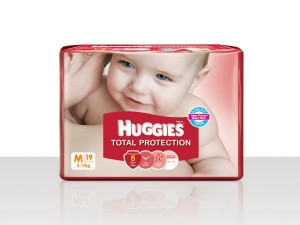 Huggies - Total Protection Medium (5-11 Kg)