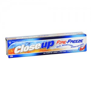 Close Up - Fire Freeze Toothpaste 80 gm Pack