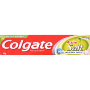 Colgate Toothpaste - Active Salt Healthy White (with Lemon) 200 gm pack