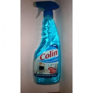 Colin - Ultra Shine Glass Cleaner - Blue 500 ml Pack