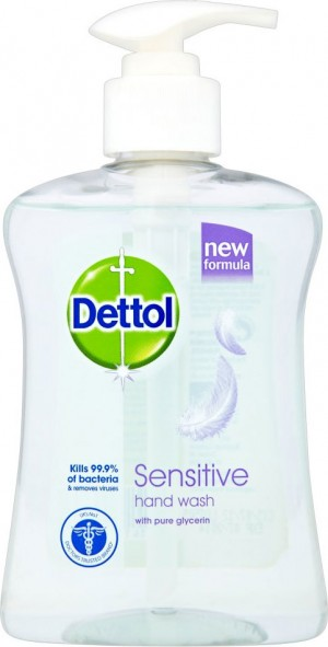 Dettol Liquid Hand Wash - Sensitive with Pure Glycerin