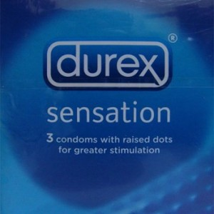 Durex Condoms - Sensation (with raised dots)