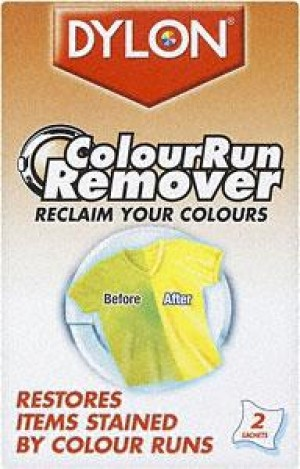 Dylon - Colour Run Remover (2 X 75 ml Pack)