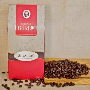 Sidapur Blended Coffee Beans - Espresso Bold Roasted
