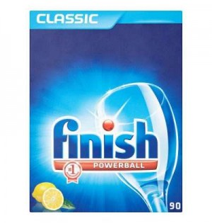 Finish - Classic Lemon Dishwasher Tab 30 Pcs